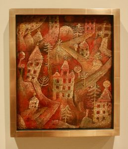 Paul Klee Painting Red Villa Quarter sfmoma