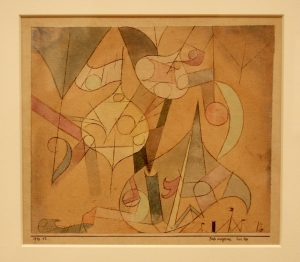 Paul Klee Painting at the sfmoma
