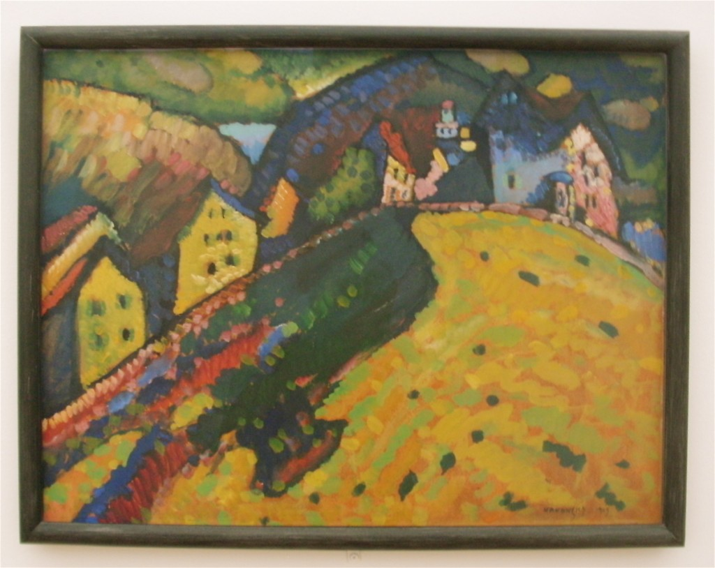 Kandinsky Painting from Chicago Art Institute