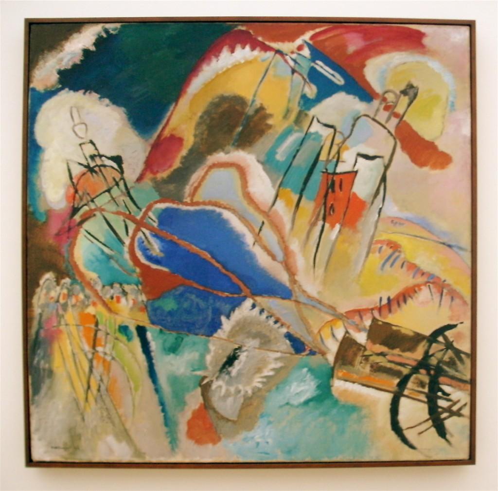 Kandinsky Painting from Chicago Art Institute