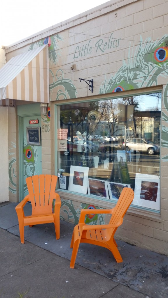 Little Relics Art Store in Midtown Sacramento