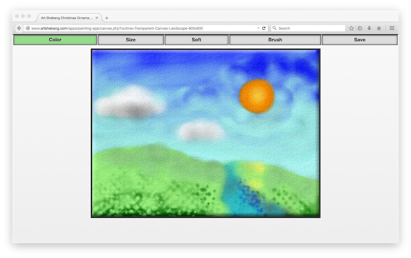 Painting and Drawing Web App