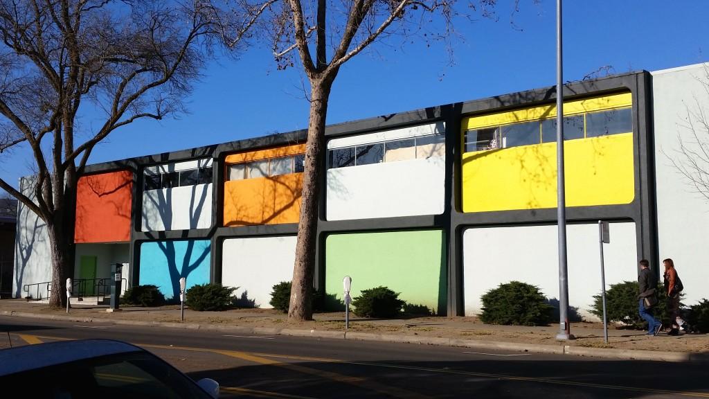 The Verge art gallery in Sacramento