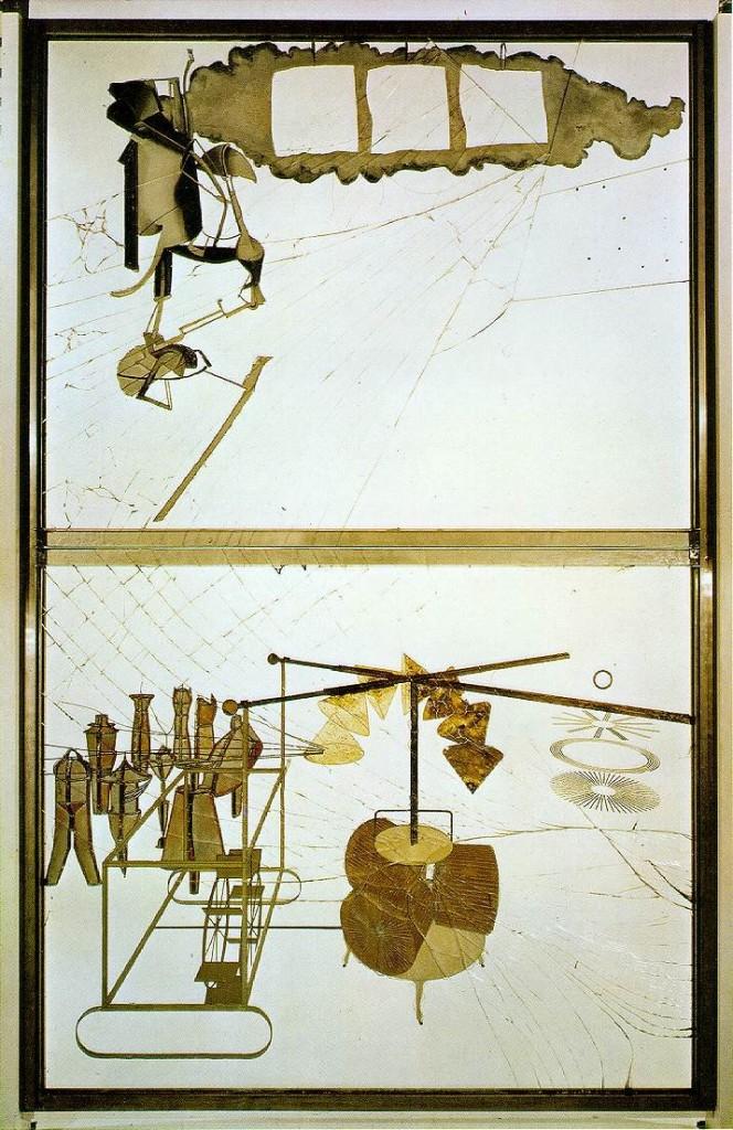 Marcel Duchamp Large Glass Sculpture