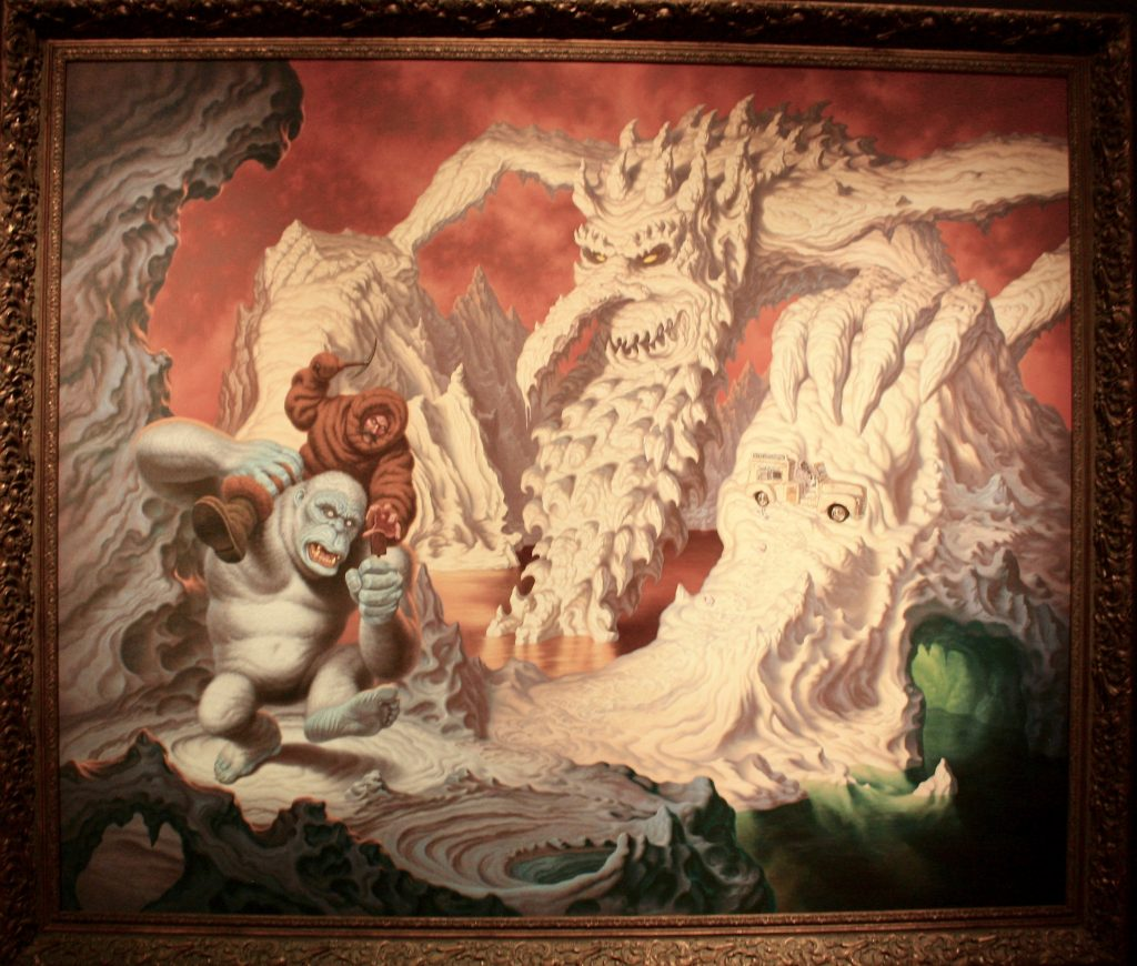Todd Schorr Painting